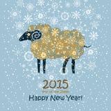 Funny sheep. Royalty Free Stock Photography