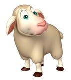 funny Sheep  cartoon character Stock Photo