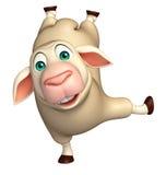 funny Sheep  cartoon character Stock Photos