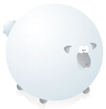 Funny sheep Royalty Free Stock Images