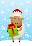 Funny sheep Stock Photography