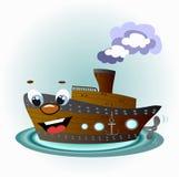 Funny ship Stock Image