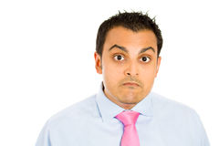 Funny shocked Royalty Free Stock Images