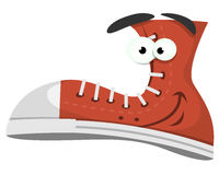 Funny Shoe Character Stock Image