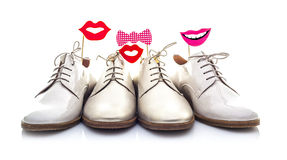 Funny Shoes Stock Images