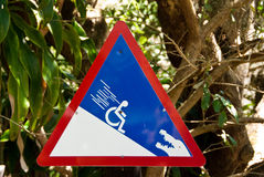 Funny sign Royalty Free Stock Image