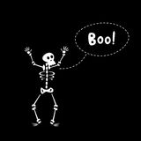 Funny Skeleton Stock Photography