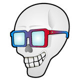 Funny skull Royalty Free Stock Images
