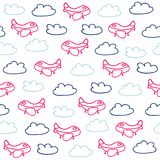 Funny sky pattern Royalty Free Stock Photos
