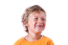 Funny smile Stock Image