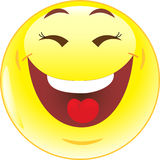 Funny smile, smile, icon Royalty Free Stock Image