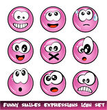 Funny Smiles Collection Stock Photos