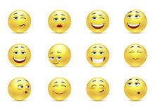 Funny smiles Royalty Free Stock Images