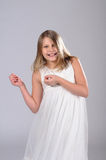 Funny smiling girl. Stock Photo