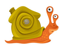 Funny snail Royalty Free Stock Photo