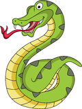 Funny snake cartoon Stock Photo