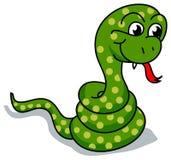Funny snake Royalty Free Stock Image