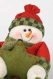 Funny snowman Stock Photo