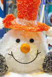 Funny snowman Stock Image