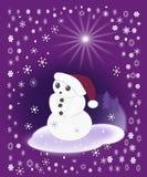 Funny Snowman Stock Photos