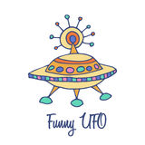 Funny Space Symbol Royalty Free Stock Images