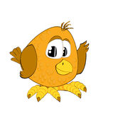A funny sparrow Royalty Free Stock Photos
