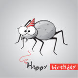 Funny spider Royalty Free Stock Image