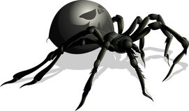 Funny spider cartoon for you design Royalty Free Stock Photos