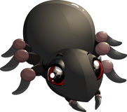 Funny spider cartoon for you design Stock Image