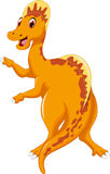 Funny Spinosaurus cartoon posing Royalty Free Stock Photos