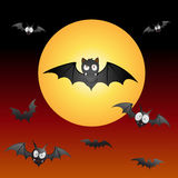 Funny and spooky Bats Royalty Free Stock Image