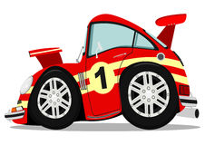Funny sports car Stock Photo