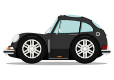 Funny sports car Stock Image