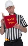 Funny Sports Football Referee Umpire Isoiated Stock Photography
