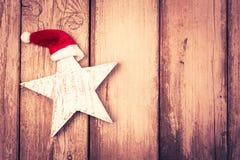 Funny star at christmas Stock Image