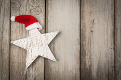 Funny star at christmas Royalty Free Stock Photography