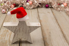 Funny star at christmas Royalty Free Stock Photo