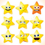 Funny Stars Stock Photo