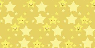 Funny stars pattern Stock Photos