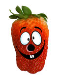 Funny strawberry Royalty Free Stock Photography