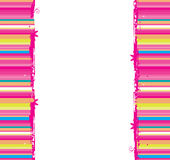 Funny striped background  seamless Stock Images