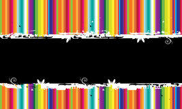 Funny striped background  seamless. Stock Image