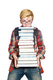 Funny student Stock Image