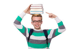 Funny student Stock Photos