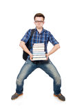 Funny student Royalty Free Stock Photos