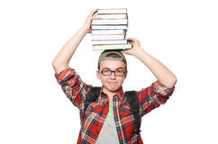 Funny student Stock Images