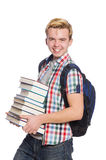 Funny student Royalty Free Stock Image