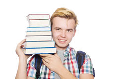 Funny student Royalty Free Stock Images