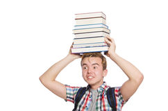 Funny student Stock Photo