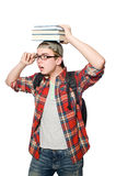 Funny student Stock Photography